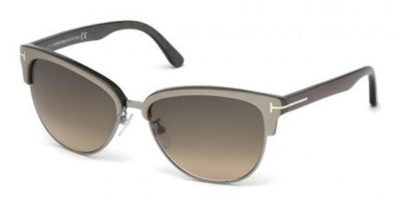 New Tom Ford Fany TF368 50G  Dark Brown-Beige//Brown Gradient